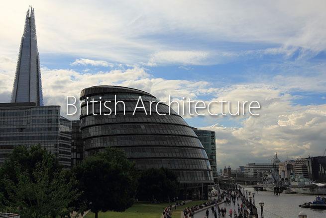 イギリス建築くるくる曲線集!