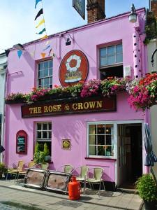 イギリス オックスフォード THE ROSE & CROWN