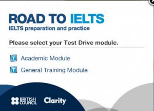 road to IELTS academic